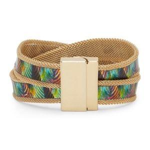 New Vince Camuto Mesh Magnetic Wrap Bracelet